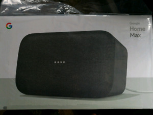 Brand New Sealed Google Home Max
