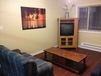 Fully furnished 2 bdrm w/Wifi - CCNB students