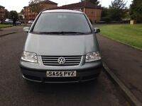 VOLKSWAGEN SHARAN SE TDI FULL YEARS MOT