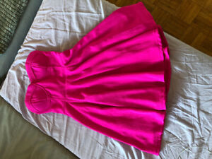 Hot pink cocktail dress from Biscuit