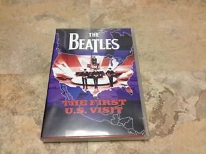 THE BEATLES - THE FIRST U.S. VISIT - DVD