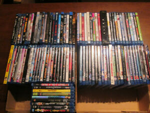 Blu-rays and 3D Blu-rays for sale