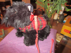 Keel Plush Toy - Scottish Terrier (Scottie)  New