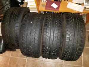 Slightly used bfgoodrich gforce tires