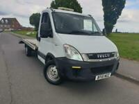 Iveco Daily 2.3 diesel 2010 recovery truck 35S11 MWB semiautomatic 12 month MOT