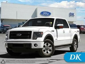 2013 Ford F-150 FX4 Eco w/Max Tow, Leather, Moonroof, Nav!