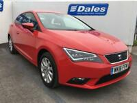 2016 Seat Leon 1.6 TDI 110 SE 3dr DSG [Technology Pack] 3 door Hatchback