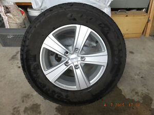 summer Goodyear fortera hd tires  size (P245/70R17)