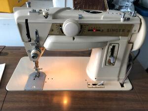 Heavy Duty Singer Sewing Machine - Model 411g - PRISTINE