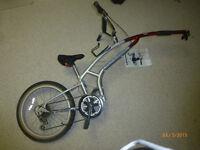ADAMS tag-a-long bicycle
