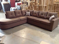 3 PC SECTIONAL SOFA SET $1099/- CHOICE OF COLOR (NO TAX)