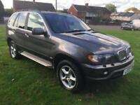 BMW X5 4.4i auto 2002MY SUPER LOW MILEAGE. 55 K!!! ONLY 2 OWNERS TINTED WINDOWS