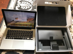 Mid 2012 Macbook pro 13 inch, i7 cpu, 480 ssd, 8 gb ram