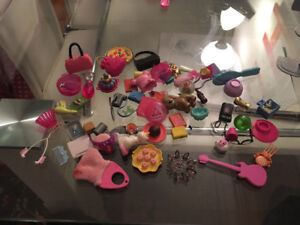 Barbie dolls and accessories great shape
