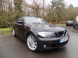 2007 BMW 1 SERIES 118D M SPORT HATCHBACK DIESEL