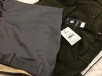 "54"" regular leg men's trousers with tags"