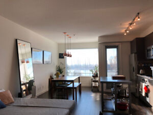 RARE FIND - SPLIT LEVEL APARTMENT - LOCATED IN RIVER DISTRICT, V