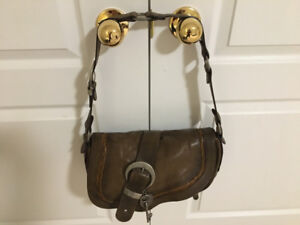 Authentic Dior gaucho saddle bag purse; Chanel Vuitton gucci