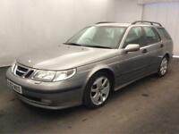 SAAB 9-5 2.2TiD VECTOR ESTATE..FULL MOT..LEATHER..LOOKS+DRIVE OK..GOOD WORKHORSE