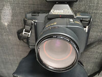 CANON T80 35mm SLR FILM CAMERA WITH 35-70mm LENS