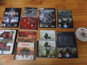 8 jeux pour PC / 8 PC games