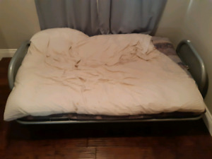 Futon with Memory Foam