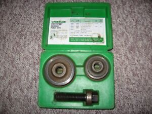 Greenlee 737BB Knockout Punch Kit