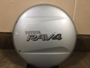 Genuine Toyota Silver Spare Tire Cover, 2002-2004 RAV4 Limited