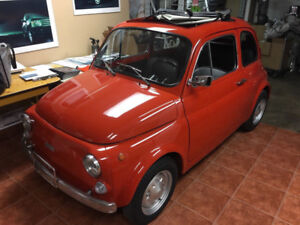IMPECCABLE 1972 FIAT 500 NOW AVAILABLE TO SERIOUS COLLECTORS..