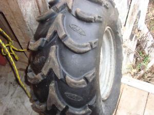 """27"""" Rim & Tires"""