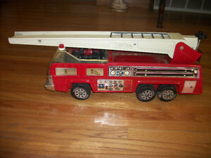 Large Metal Tonka Fire Truck