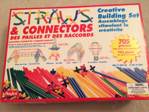straws and connectors 705 piece set