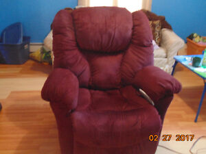 REDUCED Over half price Pride stand up electric recliner