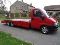 2005 (55 reg) Fiat Ducato 2.8HDI Tri-Axle Alko Recovery Truck, Car Transporter