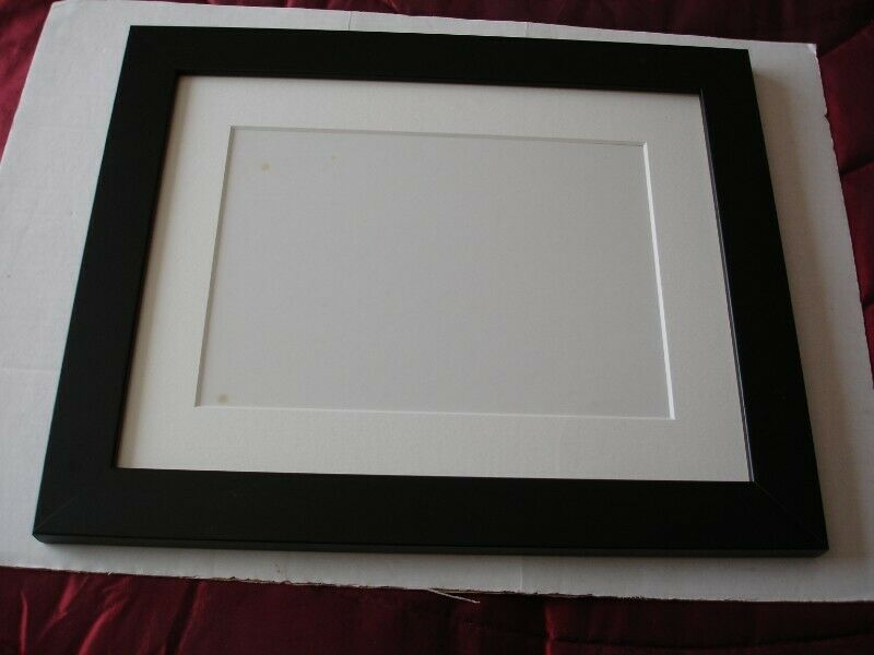 Unused Two Black Wooden/Glass Picture  Frames