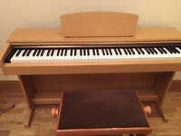 Yamaha Arius YDP 161 electric piano and stool