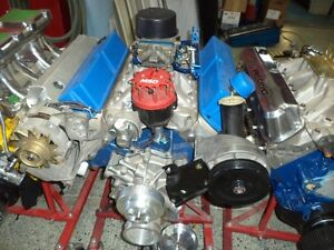 MOTEUR STROKER 408 FORD RACE SMALL BLOC 605 HP 12A1 COMPRESSION
