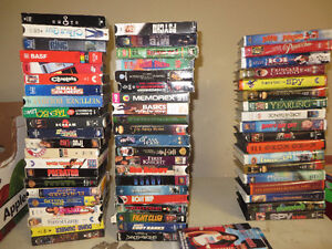 selection of movies VHS all movies $50 for all