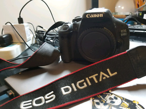 Canon 600d t3i body only