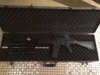 Tippmann x7 with lots of mods