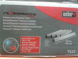 Aftermarket Weber Replacement Stainless Steel Flavorizer Bars London Ontario image 2