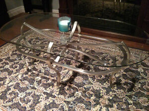 Glass Coffee Table $50