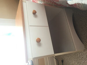 Great Condition Bed Frame & Nightstand