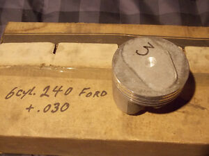 New 240 CID Ford pistons and camshaft Windsor Region Ontario image 3