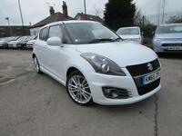 2015 Suzuki Swift SPORT Petrol white Manual