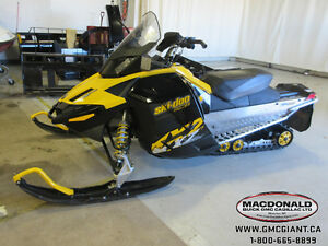 2010 Ski-Doo MXZ 1200 TNT REV XR Only $78.96 Bi Weekly