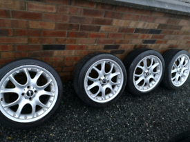 17 inch Mini Alloys with 4 good tyres