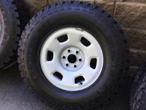 4 pneus homologués hiver 265/70r16 Général Grabber AT2