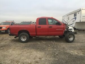 PARTING OUT 2002-2009 DODGE RAM **CUMMINS TURBO DIESEL**