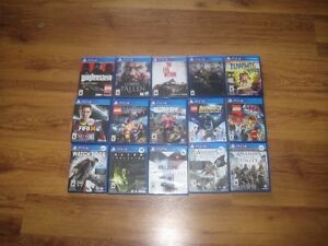 16 playststion 4 games